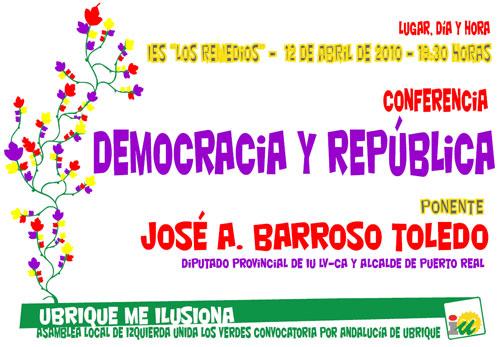 Conferencia Democracia y República