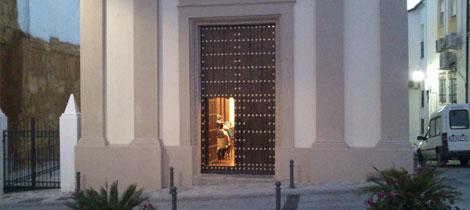 Puerta del Salón de Plenos
