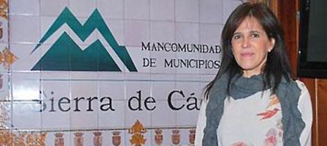Dolores Caballero (IU) presidenta de Mancomunidad