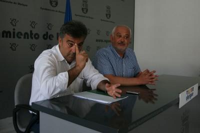 Manuel Cárdenas y Manuel Toro