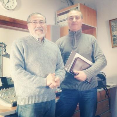 José García y Manuel Ramírez en Radio Ubrique