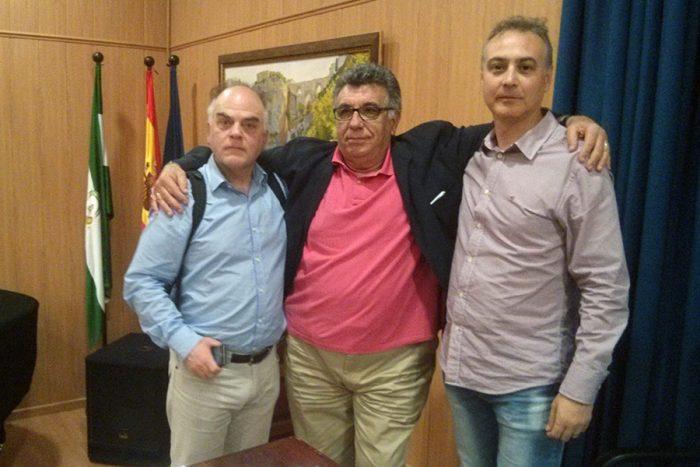 Fernando Sígler, Luis A. García y Manuel Ramírez