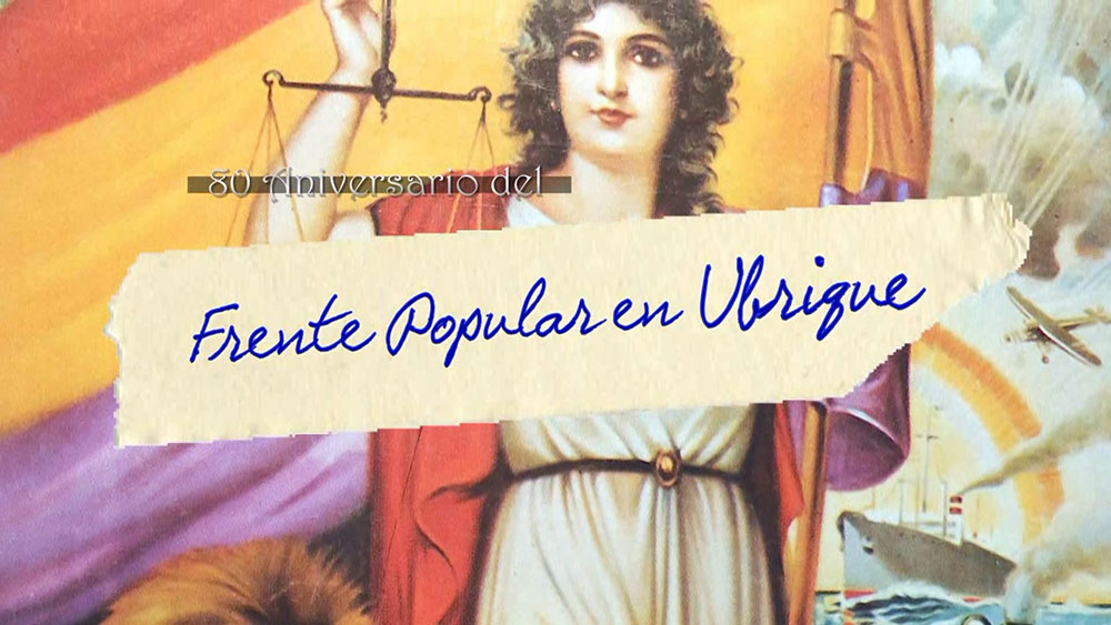 80 Aniversario del Frente Popular en Ubrique