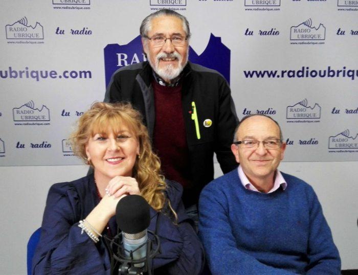Pepi Morales, José García y Miguel Gónzalez