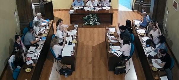 Pleno municipal de mayo de 2017