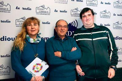 Pepi Morales, Miguel González y José Manuel Gómez